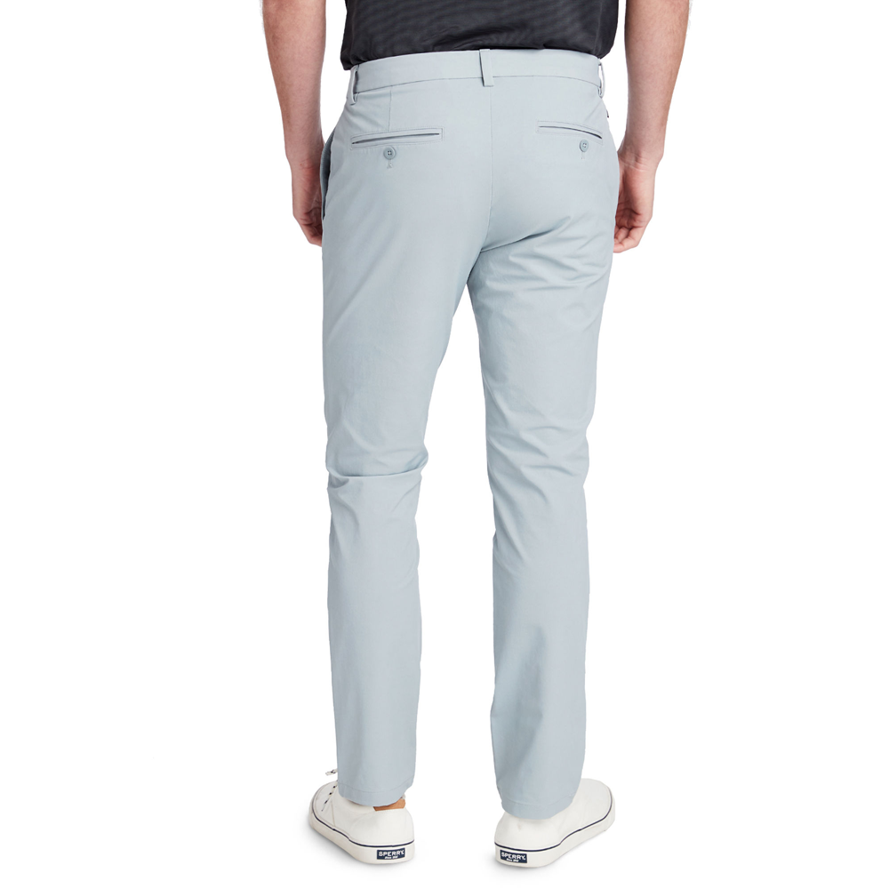 Mens Vineyard Vines On-The-Go Slim Performance Pant in Barracuda - Brother's on the Boulevard