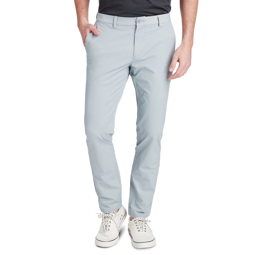 Vineyard Vines On-The-Go Slim Performance Pant in Barracuda