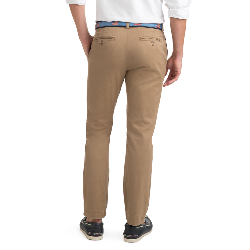 Mens Vineyard Vines Stretch Breaker Pants in Otter - Brother's on the Boulevard