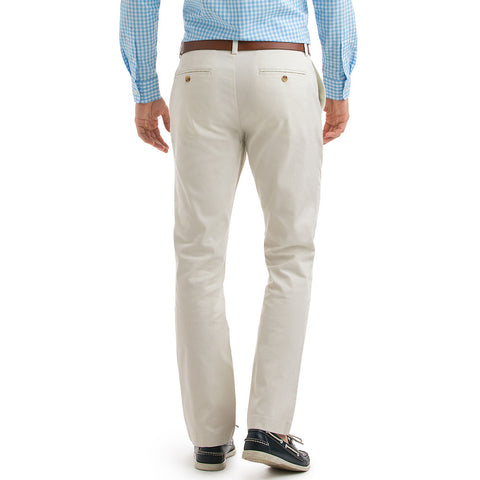 Vineyard Vines Stretch Breaker Pant in Stone