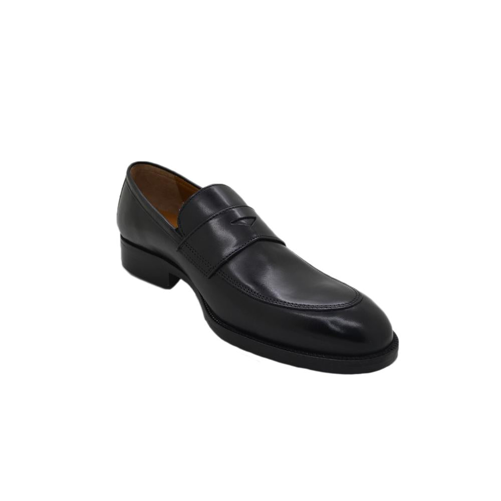 Mens Johnston & Murphy Alcott Penny Loafer in Black - Brother's on the Boulevard