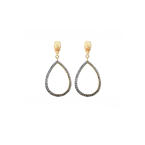 Womens Nicole Leigh Caitlyn Earring in Gold Post - Brother's on the Boulevard