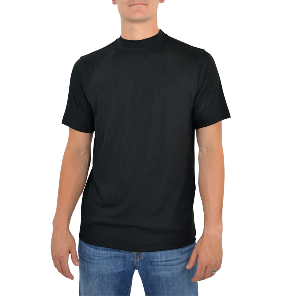 Tulliano Carla Crew Neck Tee in Black