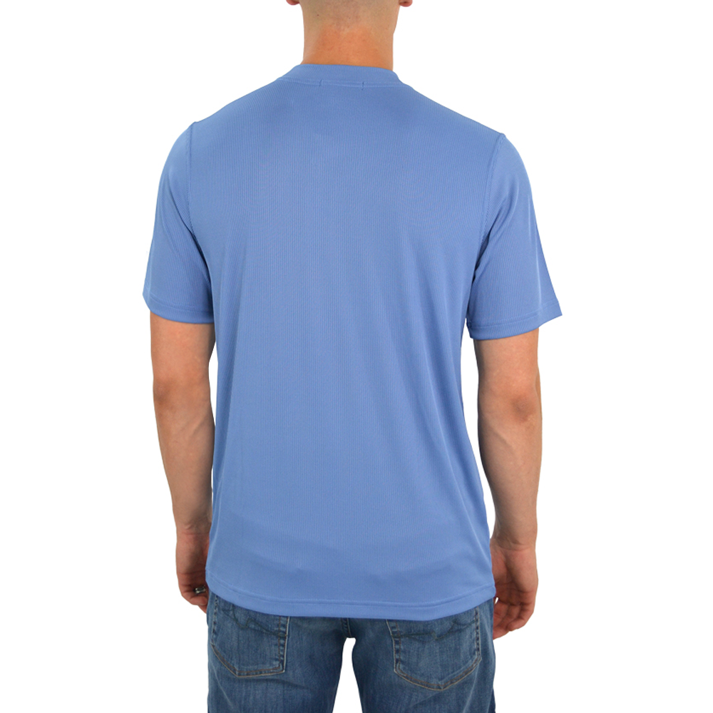 Mens Tulliano Carla Crew Neck Tee in Ocean - Brother's on the Boulevard