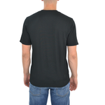 Mens Tulliano Viena V-Neck Tee in Black - Brother's on the Boulevard