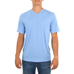 Tulliano Viena V-Neck Tee in Powder