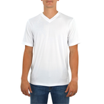 Tulliano Viena V-Neck Tee in White