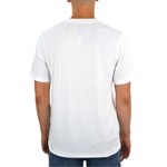 Mens Tulliano Viena V-Neck Tee in White - Brother's on the Boulevard