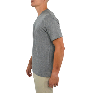 Mens Tulliano Russini V-Neck Tee in Ash - Brother's on the Boulevard