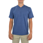 Tulliano Russini V-Neck Tee in Marine