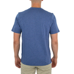 Mens Tulliano Russini V-Neck Tee in Marine - Brother's on the Boulevard