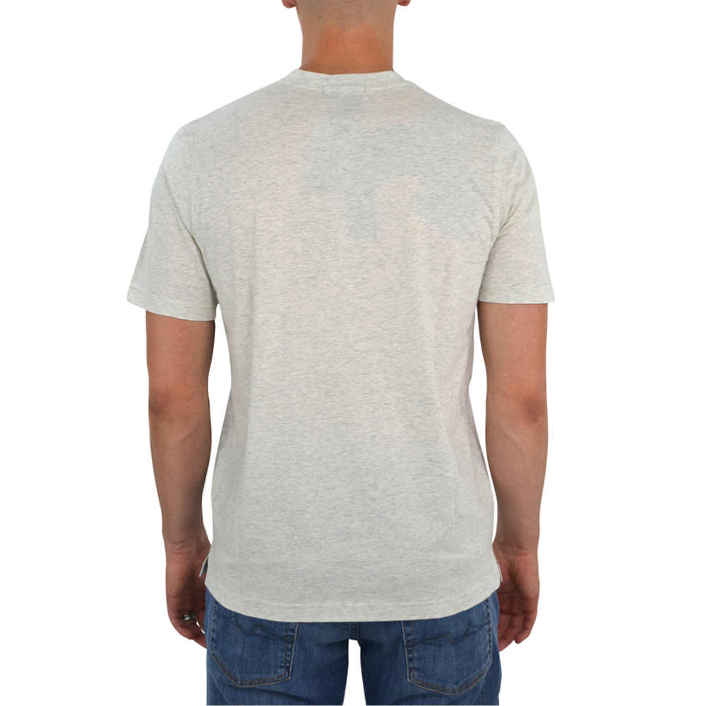 Mens Tulliano Russini V-Neck Tee in Natural - Brother's on the Boulevard