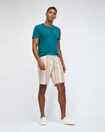 Mens Bonobos Bonzai E-Waist Trunks in White Multi-Stripe - Brother's on the Boulevard