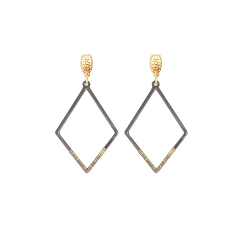 Womens Nicole Leigh Charlie Earring in Gold Post - Brother's on the Boulevard