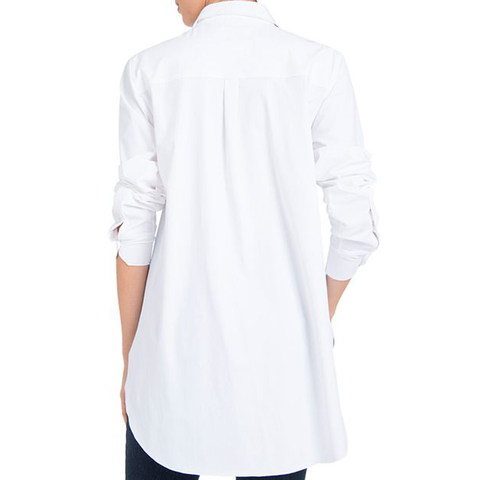 Womens Lysse Schiffer Button-Down Top in White - Brother's on the Boulevard