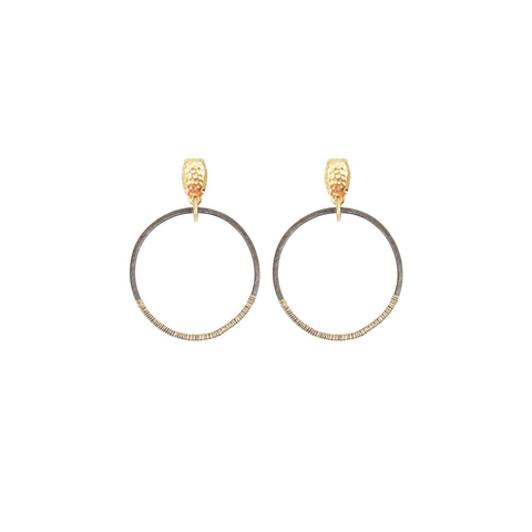 Womens Nicole Leigh Chandler Earring in Gold Post - Brother's on the Boulevard