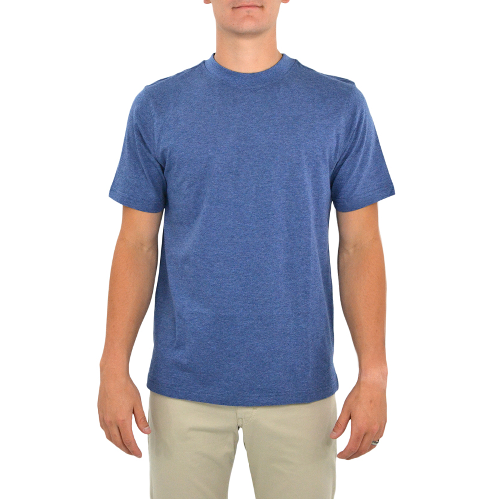 Tulliano Baniri Crew Neck Tee in Marine