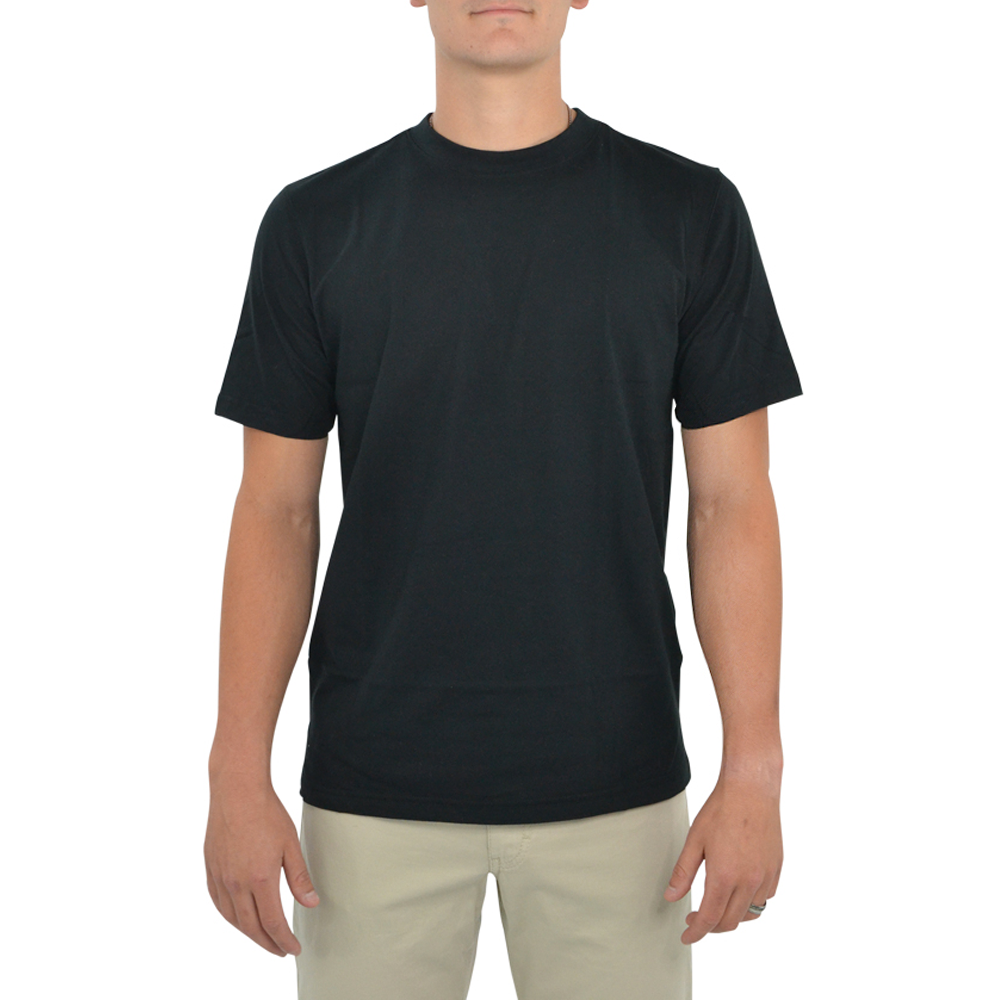 Tulliano Baniri Crew Neck Tee in Black