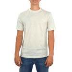 Tulliano Baniri Crew Neck Tee in Natural
