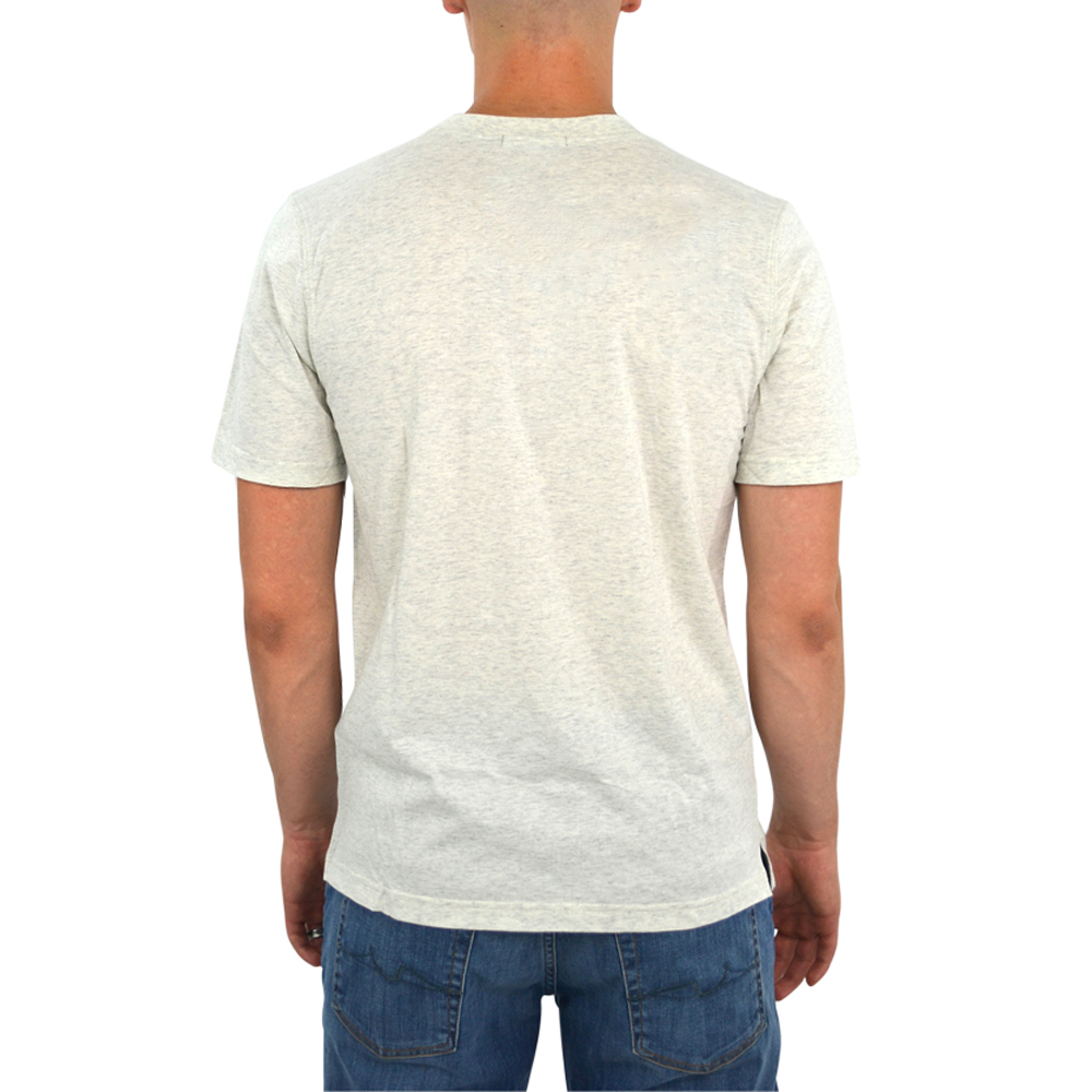 Mens Tulliano Baniri Crew Neck Tee in Natural - Brother's on the Boulevard