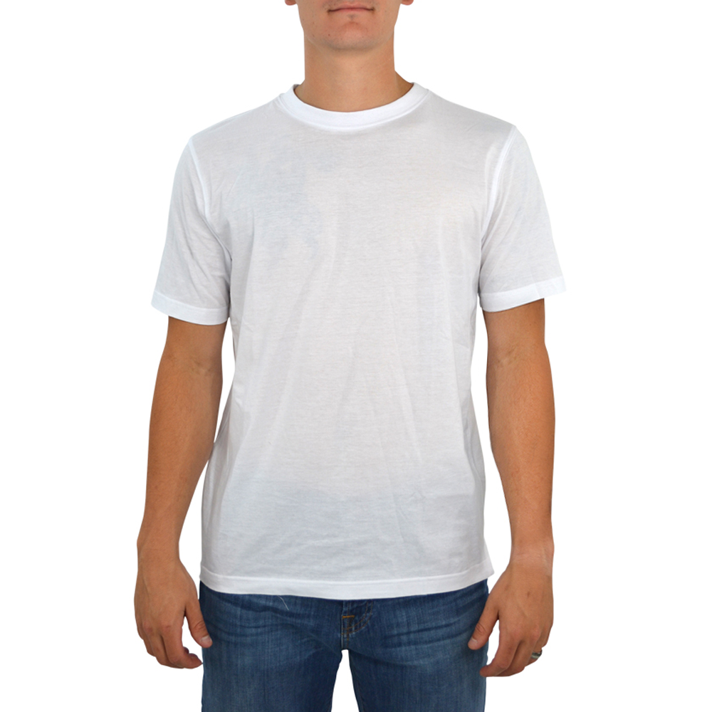 Tulliano Baniri Crew Neck Tee in White
