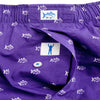 Southern Tide Gameday Skipjack Boxer in Regal Purple