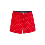Southern Tide Gameday Skipjack Boxer in Varsity Red