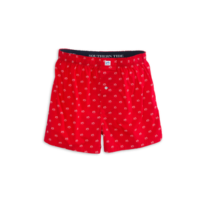 Mens Southern Tide Gameday Skipjack Boxer in Varsity Red - Brother's on the Boulevard