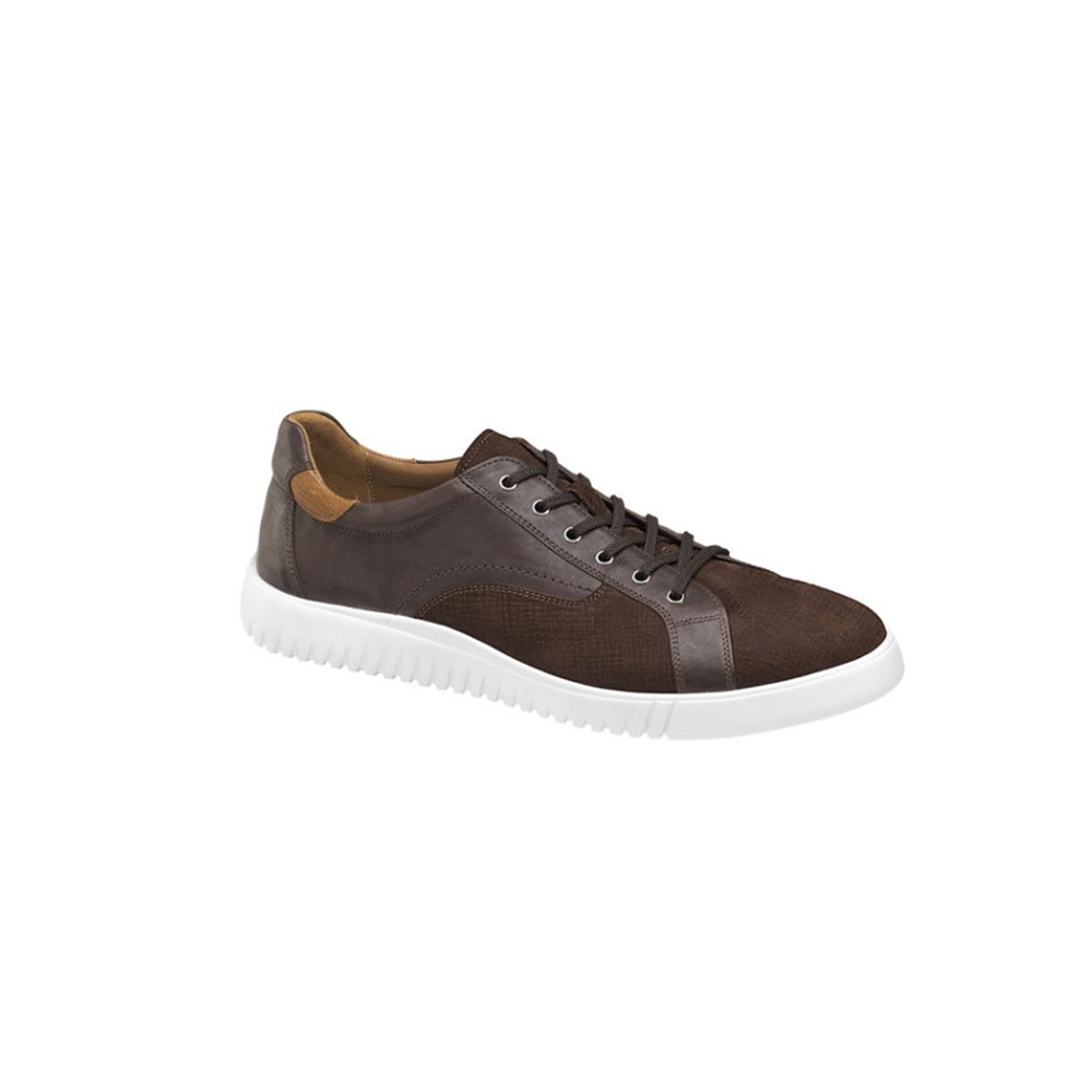 Johnston & Murphy McFarland Lace-to-Toe Sneakers in Brown