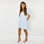 Womens Crosby by Mollie Burch Faith Reversible Dress in Cruz Blue - Brother's on the Boulevard