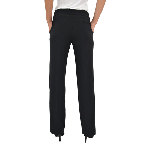 Womens Lisette L Palazzo Pants in Black - Brother's on the Boulevard