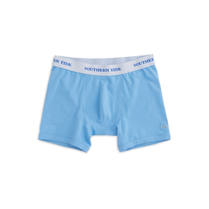 Mens Southern Tide Solid Boxer Brief in Ocean Channel - Brother's on the Boulevard