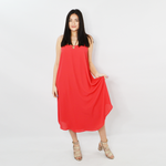 Womens Catherine Kate Leilani Sleeveless Midi Dress in Rose Bud - Brother's on the Boulevard