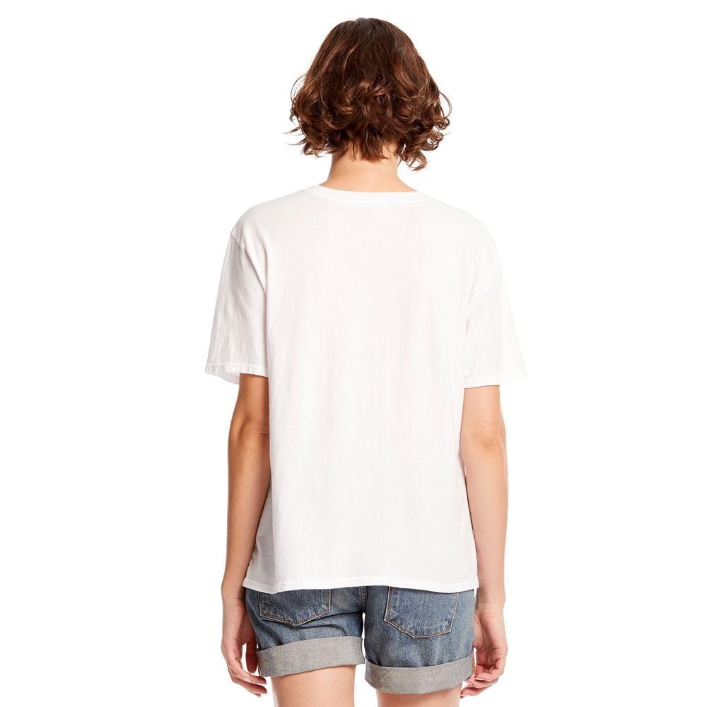 Womens Michael Stars Liz Short Sleeve Shirt in White - Brother's on the Boulevard