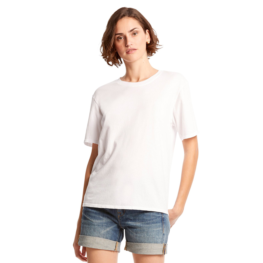 Michael Stars Liz Short Sleeve Shirt in White