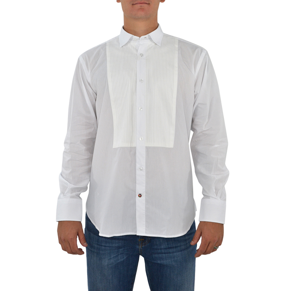 Luchiano Visconti 39145 Sport Shirt in White