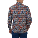 Mens Luchiano Visconti Button Down Dress Shirt in Paisley Multi - Brother's on the Boulevard