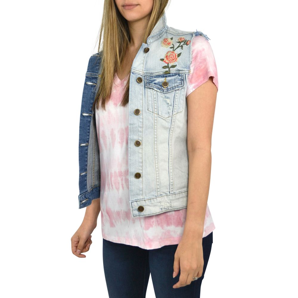 Womens Driftwood Jeans Vega Sully Vest in Denim - Brother's on the Boulevard