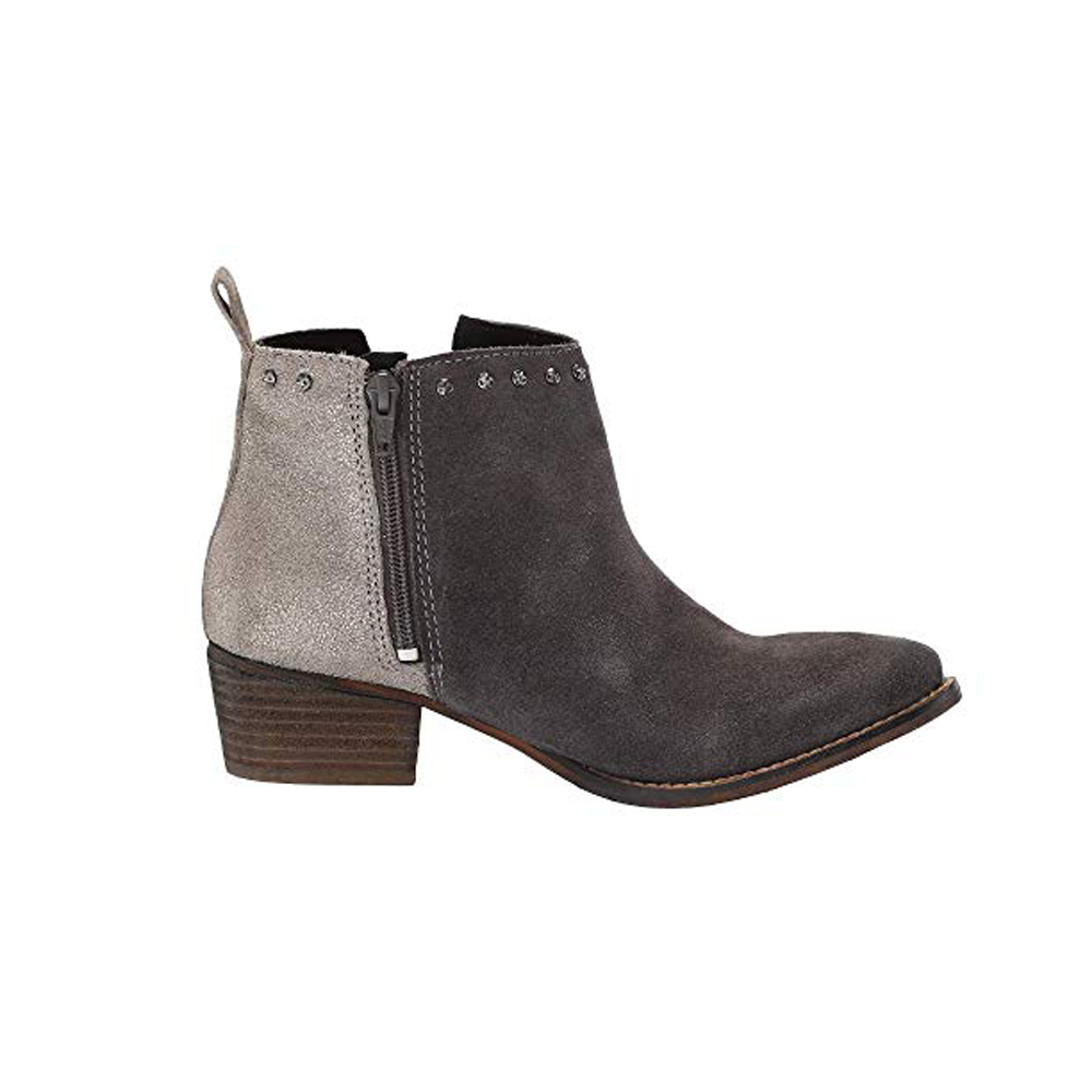 Womens Diba True Short Order Bootie in Charcoal and Pewter - Brother's on the Boulevard