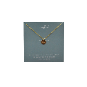 Womens Dear Heart Called Pendant Necklace in Gold - Brother's on the Boulevard