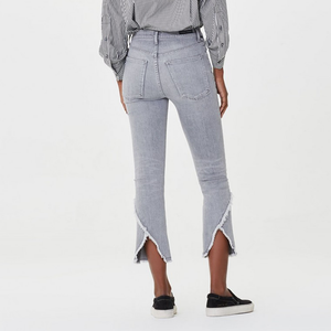 Womens Citizen of Humanity Drew Flare High Rise Crop Jean in Ash - Brother's on the Boulevard