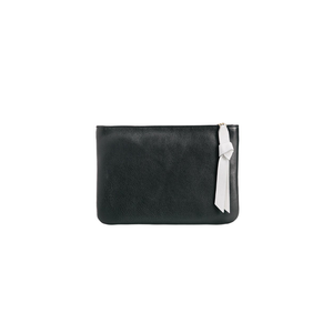 Womens Kelly Wynne 6th St. Clutch in Black and Bone - Brother's on the Boulevard
