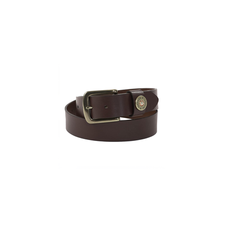 Mens Torino Cartridge Cap Belt in Brown - Brother's on the Boulevard