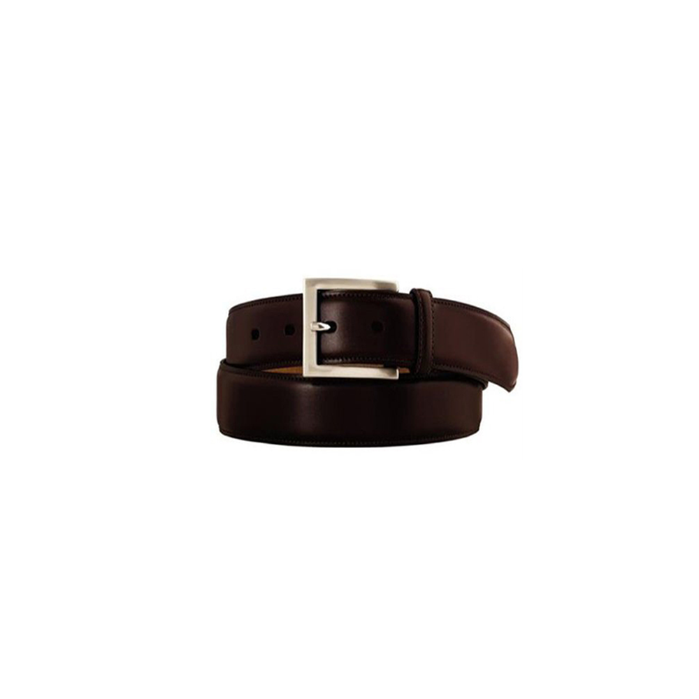 Johnston & Murphy Belt in Dark Brown
