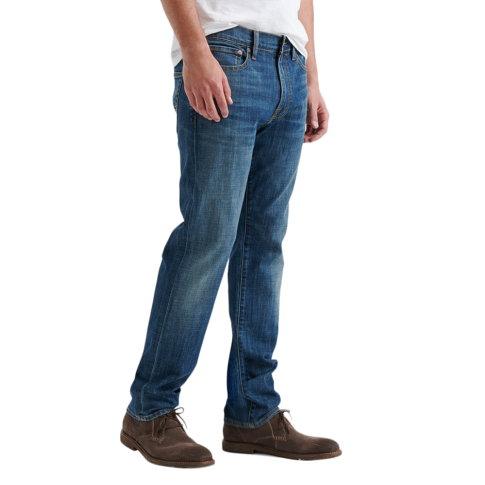 Mens Lucky Brand Men's 410 Athletic Relaxed Fit Slim Leg Jeans in Big Puddle - Brother's on the Boulevard