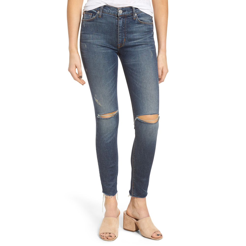 Womens Hudson Jeans Barbara High Rise Skinny in Nowhere Girl - Brother's on the Boulevard