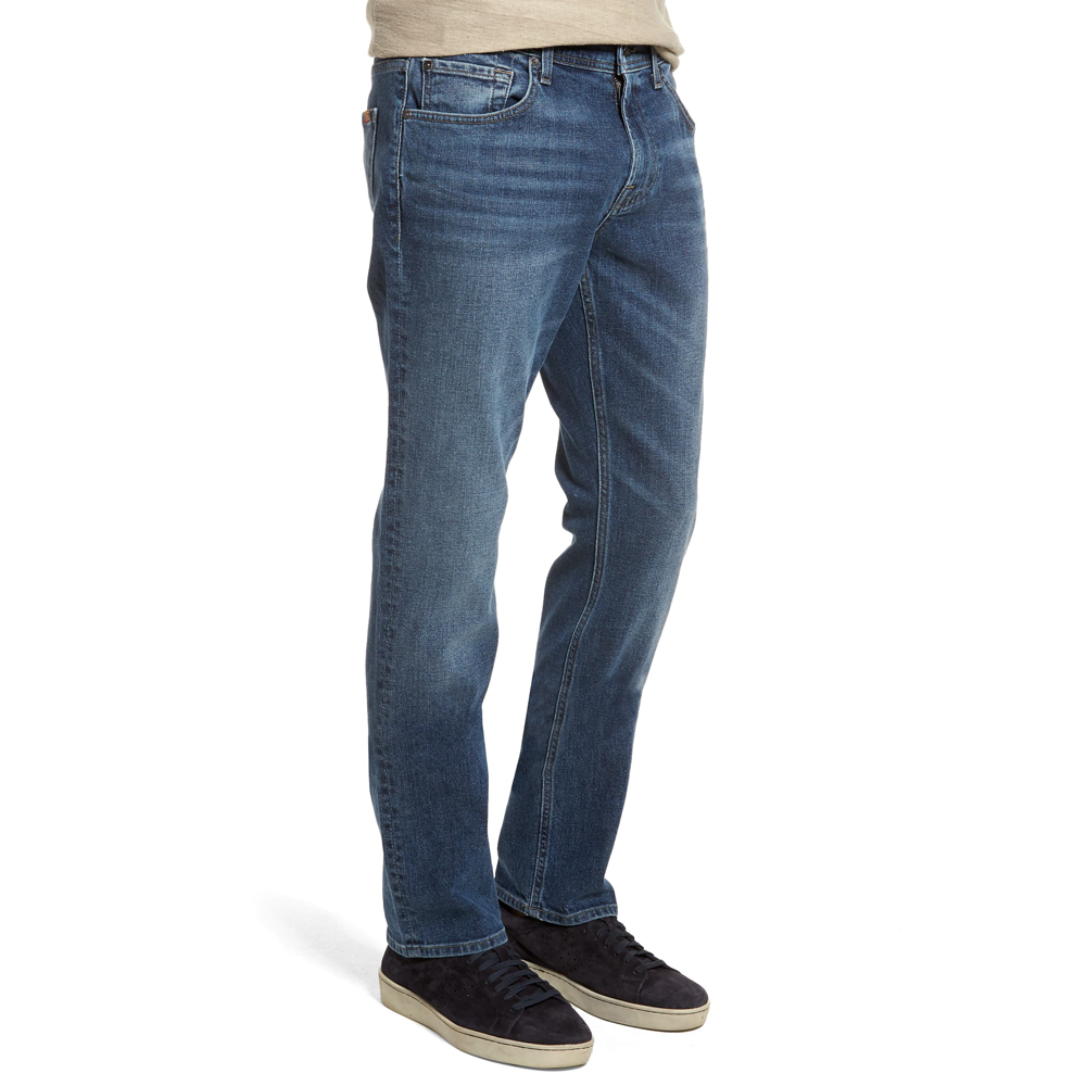 Mens 7 For All Mankind The Straight Slim Jean in Sinai - Brother's on the Boulevard