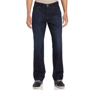 Mens 7 For All Mankind Austyn Relaxed Straight Jean in Midnight Moon - Brother's on the Boulevard