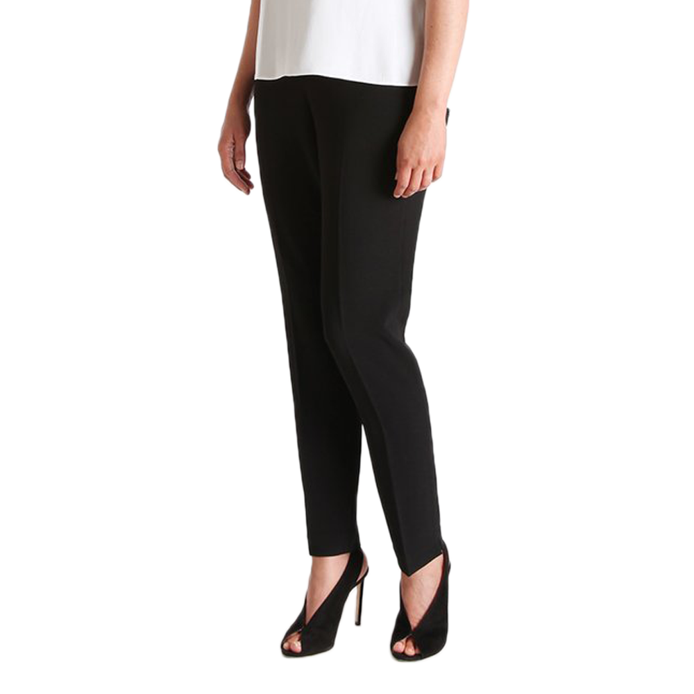 Womens Catherine Kate Jasmine Slim Crepe Pant in Black - Brother's on the Boulevard