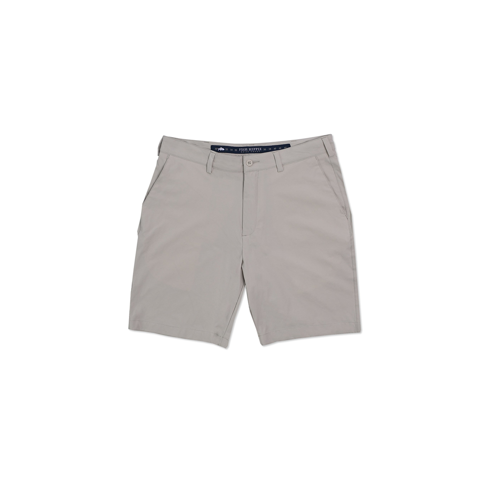Fish Hippie Performance Short in Stone